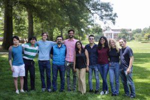 Photo of the Cellular Biophysics Lab group
